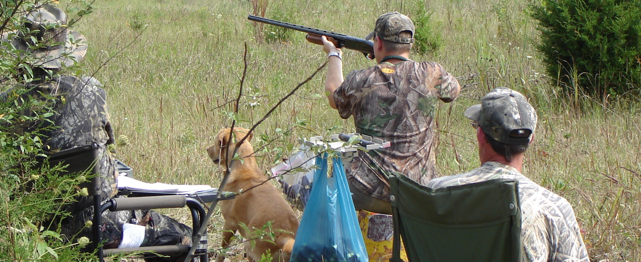 Regular Hunt tests focus on retrieving on land and water